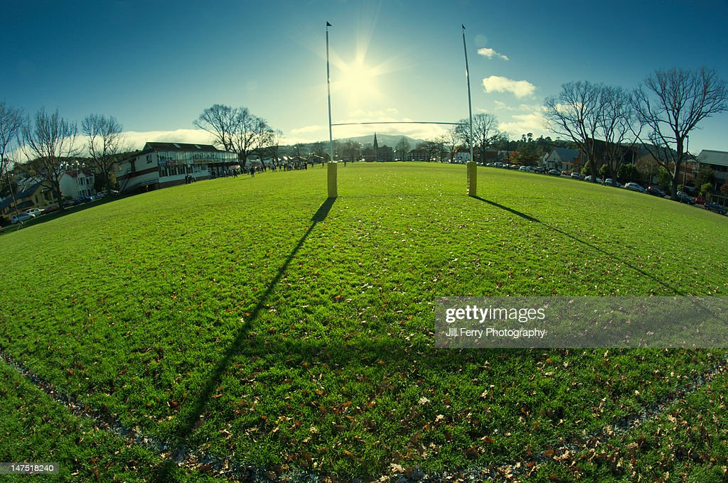 Rugby Ground : Stock Photo