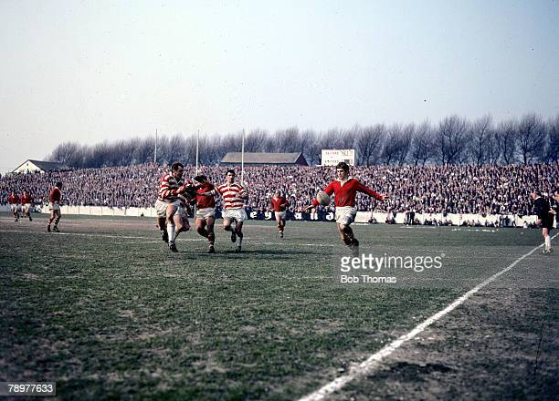Rugby League Action during a match at Salford