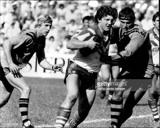 Rugby League - Balmain verses Canterbury at Leichhardt - Phil Gould. March 26, 1983. .