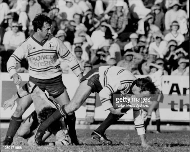 Rugby League Manly v Cronulla at Brookvale OvalJim See June 7 1980