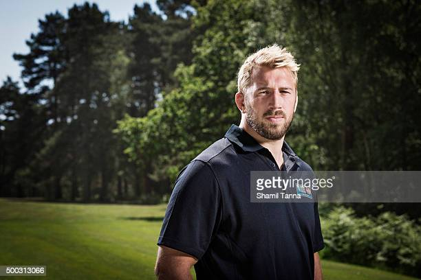 Rugby league player Chris Robshaw is photographed for the Observer on June 11, 2015 in Twickenham, England.