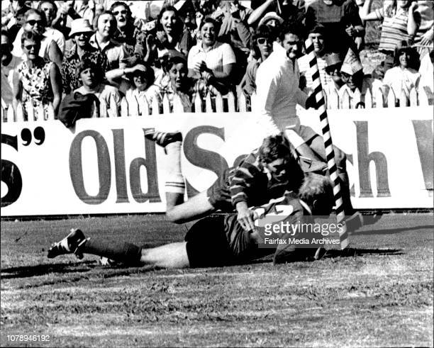 Rugby League Redfern Oval. Sth. Sydney versus Parramatta - D. Bampton. March 25, 1972. .