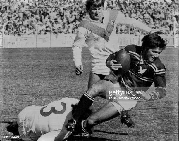 Rugby League with SCGIan Martin Manly Versus St George September 11 1971