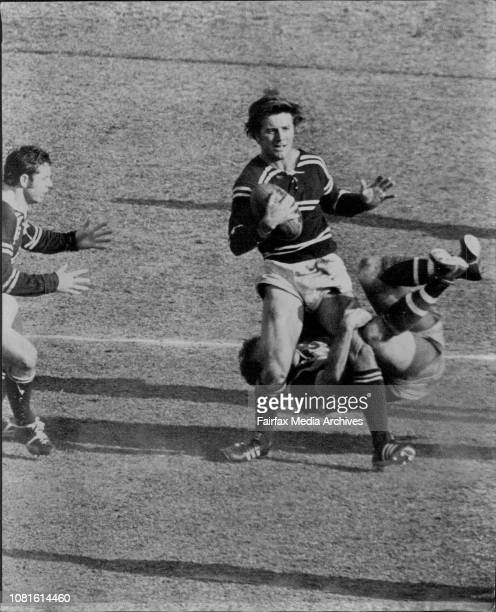 Rugby League with SCGIan Martin Manly V's Eastern Suburbs September 02 1972