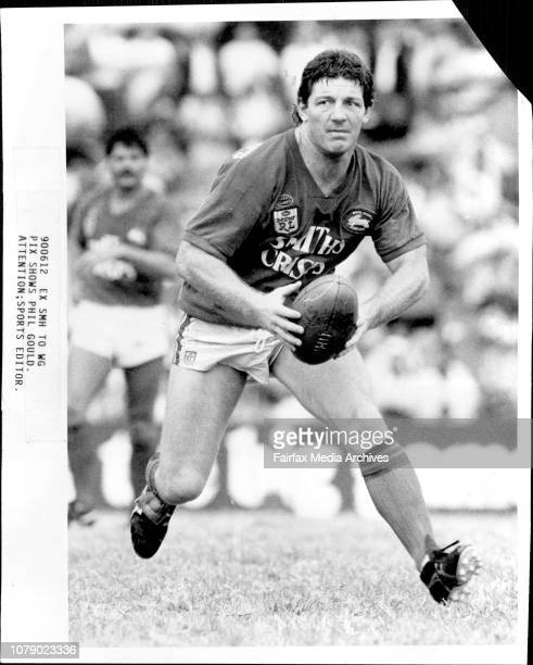 Rugby League....South Sydney Vs Illawarra at redfern - Phil Gould. March 16, 1986. .