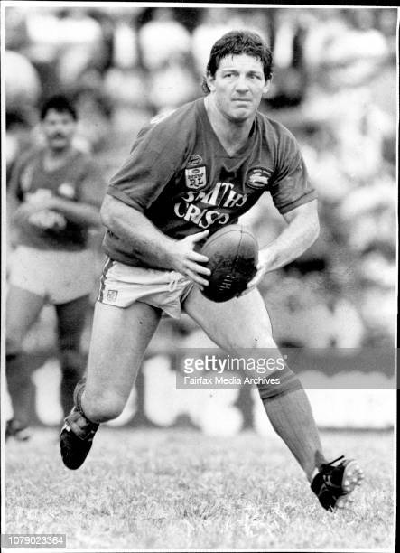 Rugby League...South Sydney Vs Illawarra at Redfern - Phil Gould. March 16, 1986. .