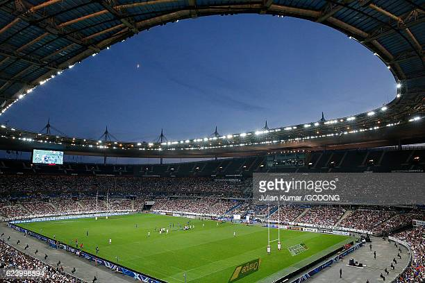 Rugby match at the Stade de France