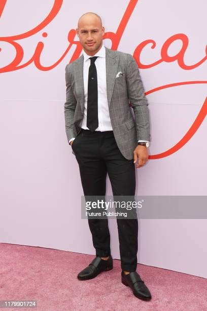Rugby player Billy Meakes on Derby Day at the 2019 Melbourne Cup Carnival at Flemington Racecourse in Melbourne Australia- PHOTOGRAPH BY Chris Putnam...