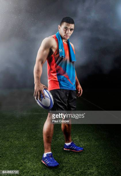 Rugby player Bryan Habana is photographed on June 15 2015 in Guildford England