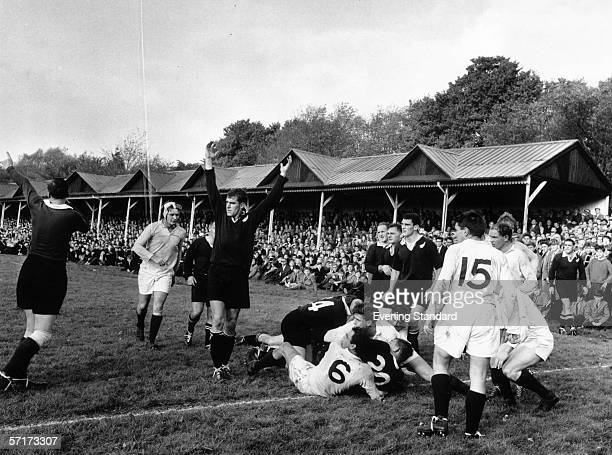 Rugby player Colin Meads of the New Zealand All Blacks 30th October 1963