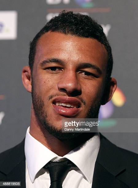 Rugby player Courtney Lawes attends the BT Sport Industry Awards at Battersea Evolution on May 8 2014 in London England
