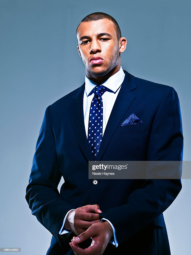 Courtney Lawes, Portrait shoot, November 24, 2011
