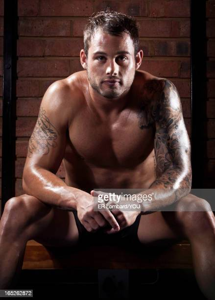 Rugby player Francois Hougaard is photographed for You magazine on April 26 2012 in Pretoria South Africa