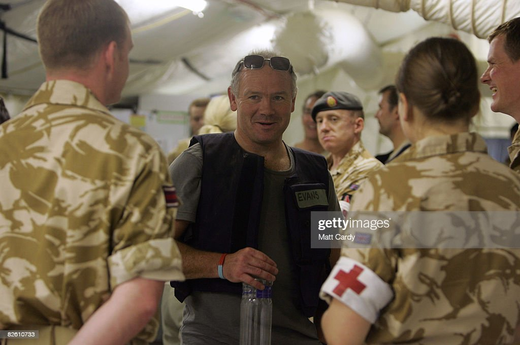 Help For Heroes Trip To Iraq : News Photo