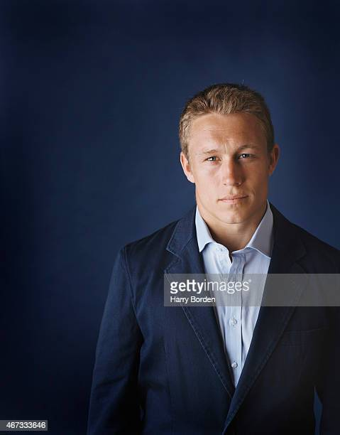Rugby player Jonny Wilkinson is photographed for Hodder Headline on May 20 2005 in London England