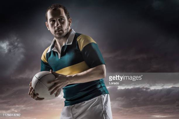 a rugby player - rugby union stock pictures, royalty-free photos & images