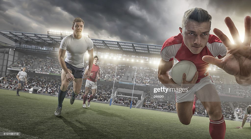 Rugby Player : Stock Photo