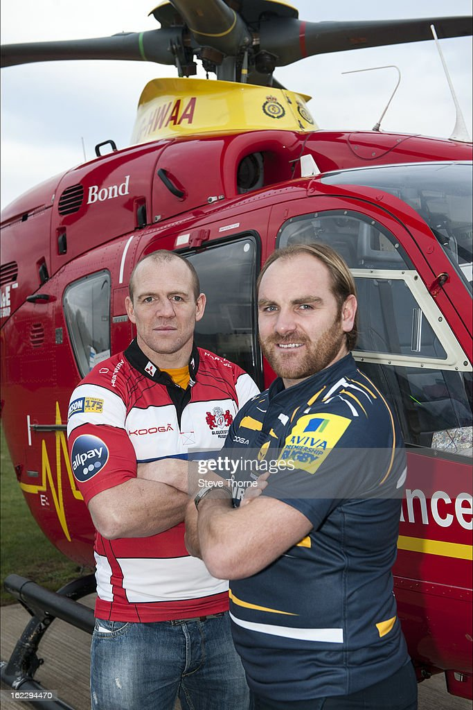 Mike Tindall & Andy Goode Are Appointed As Ambassadors For The Midlands Air Ambulance Charity