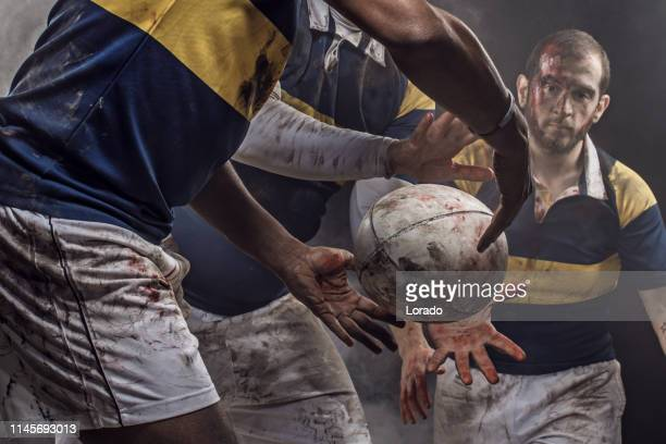 rugby players - rugby league stock pictures, royalty-free photos & images