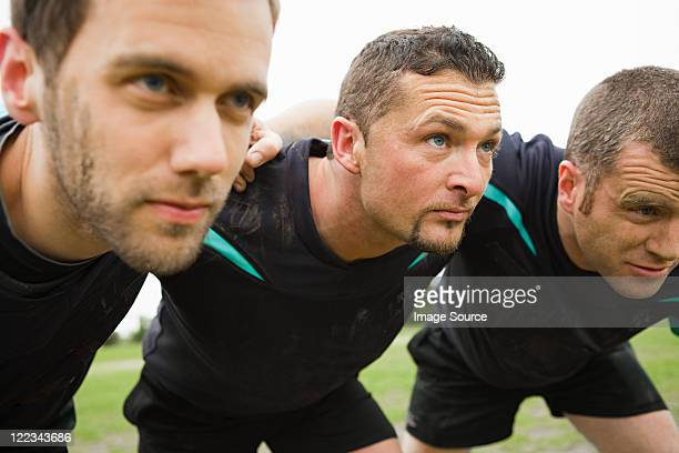 rugby players - scrum stock pictures, royalty-free photos & images