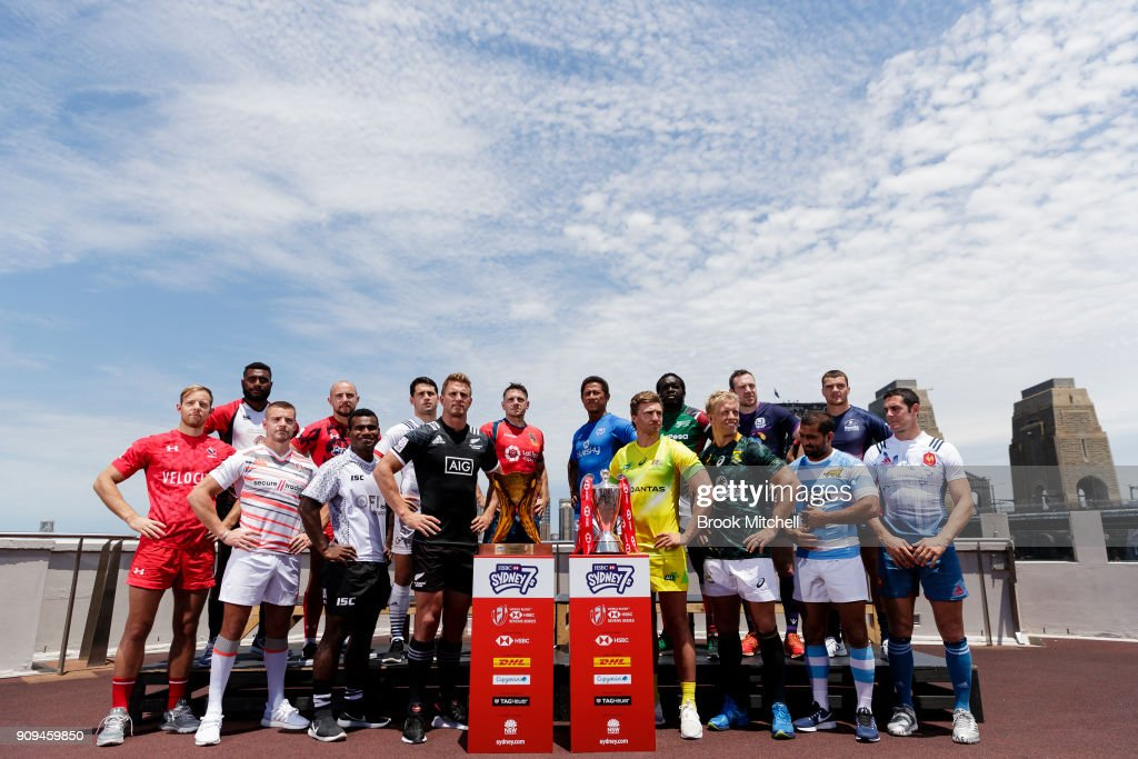 2018 Sydney Sevens Captain's Call : News Photo