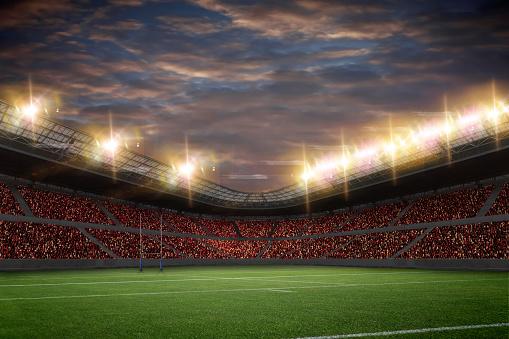 Rugby Stadium 503388318