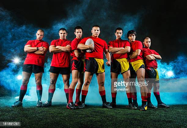 rugby team. - rugby team stock pictures, royalty-free photos & images