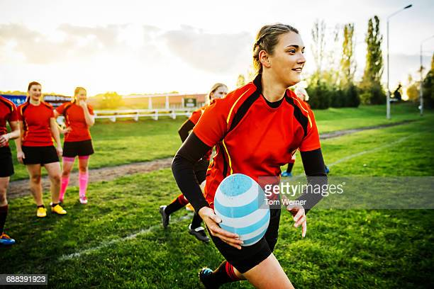 Rugby Team Training