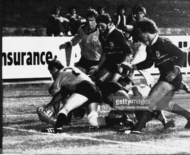 Rugby Union at Redfern Oval Sydney v NSW Country May 01 1981