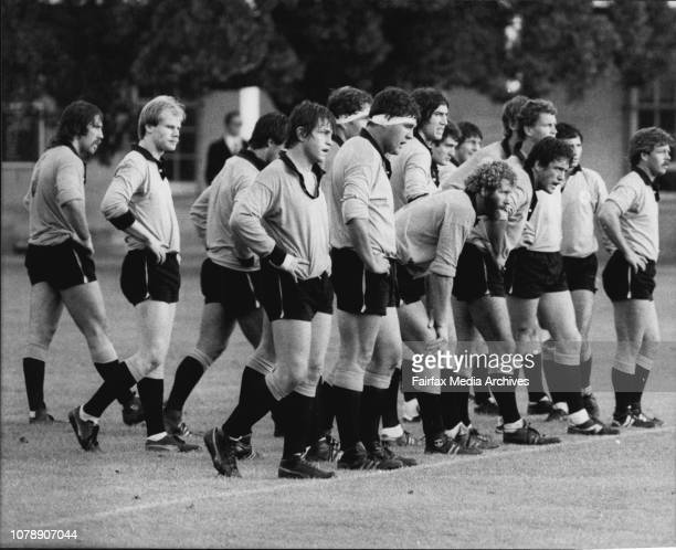 Rugby Union Country Vs ArmyCountry firsts team May 11 1983