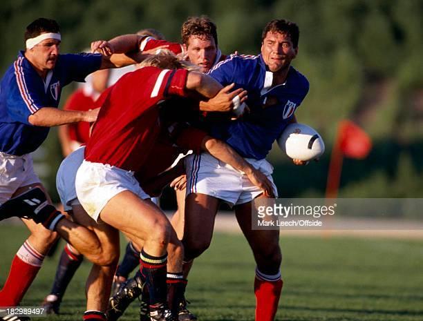 Rugby Union Friendly USA 'B' v France Marc Cecillon