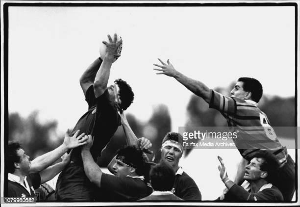 Rugby Union Grand Final, Randwick V Gordon. September 19, 1992. .