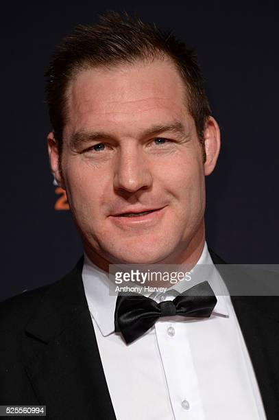 Rugby Union player Ali Williams poses on the red carpet at the BT Sport Industry Awards 2016 at Battersea Evolution on April 28 2016 in London...