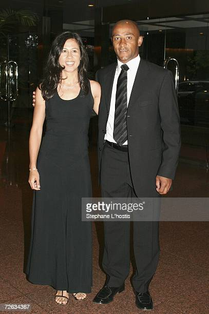 Rugby Union player George Gregan and his wife Erica attend the Hollywood Nights Charity Dinner in aid of the Prince of Wales Hospital Foundation at...