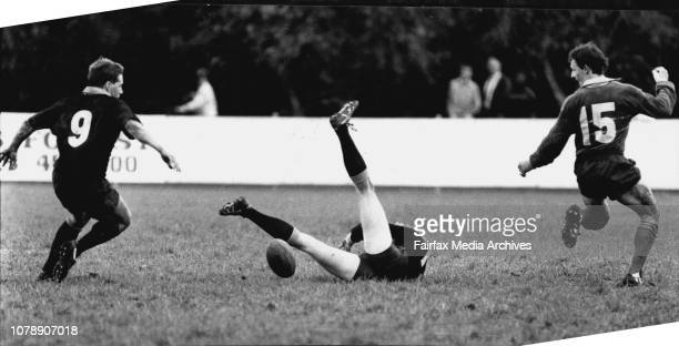 Sydney City team v Sydney Country team at the TG Milner Field May 21 1989