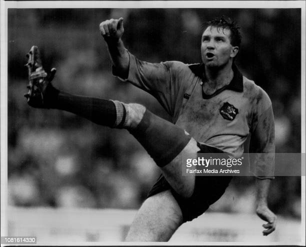 Rugby UnionTest Aust/France June 09 1990
