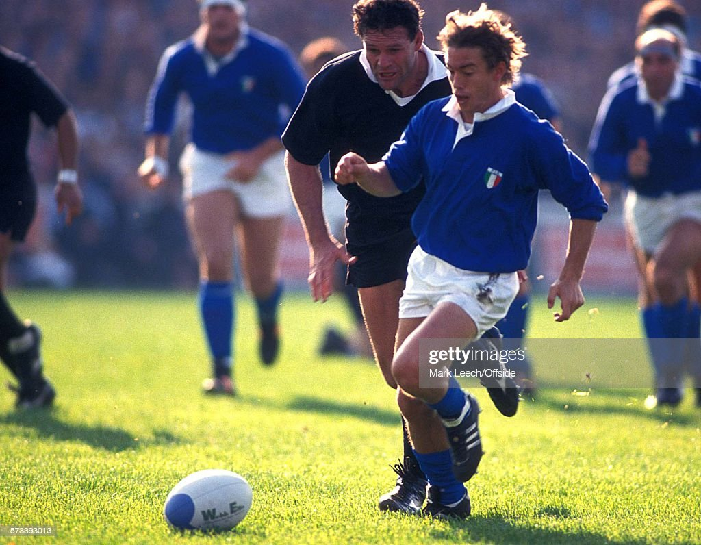 Italy v New Zealand RWC 1991 : Photo d'actualité
