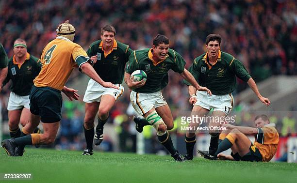 Rugby World Cup 1999 Australia v South Africa Joost van der Westhuizen