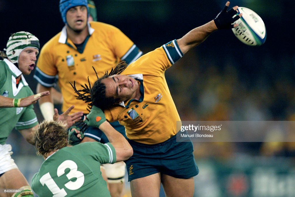 Rugby World Cup 2003 - Australia v Ireland : News Photo