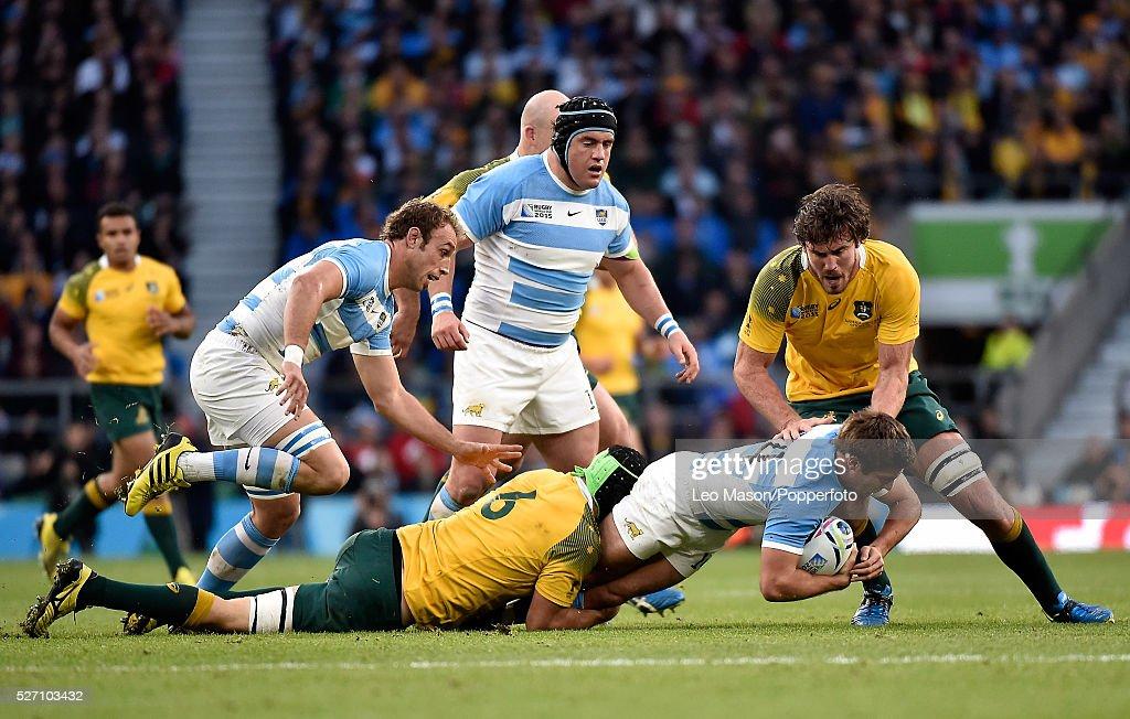 2015 Rugby World Cup RFU Twickenham Stadium London UK Semi-final Argentina v Australia : News Photo
