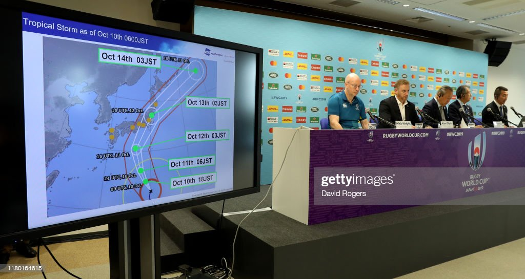 World Rugby Press Conference : News Photo