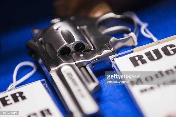 Ruger revolver for sale at Maryland Small Arms Range in Maryland USA on October 6 2015