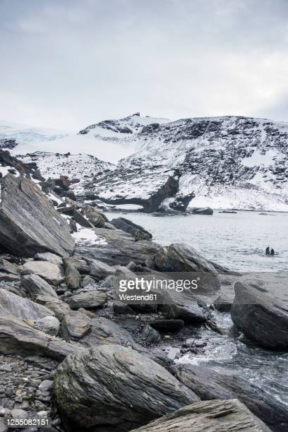 rugged coastline of coronation island - antarctic ocean stock pictures, royalty-free photos & images