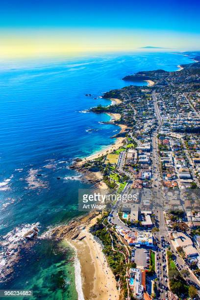rugged coastline of southern orange county - laguna niguel stock pictures, royalty-free photos & images