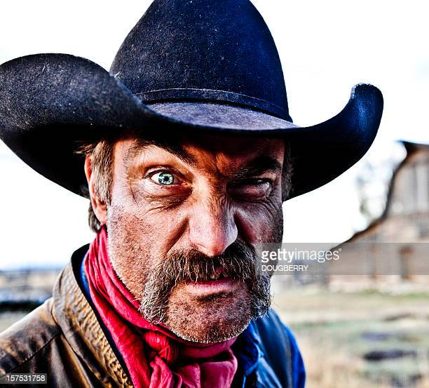 rugged cowboy - macho stock pictures, royalty-free photos & images