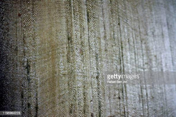 rugged fabric texture background - rafael ben ari stock-fotos und bilder