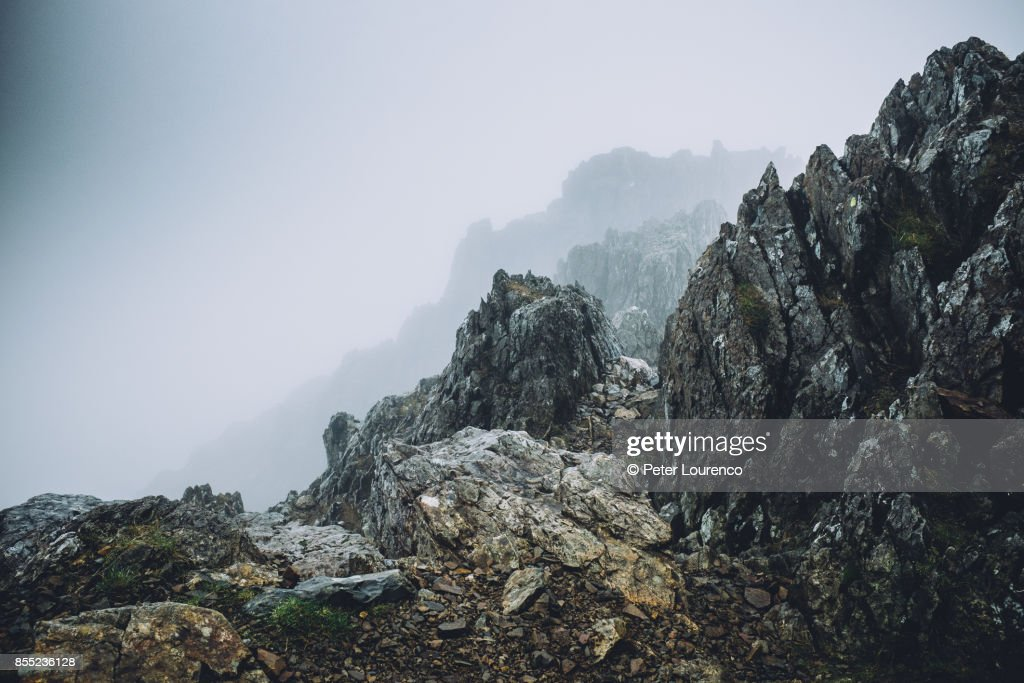 Rugged landscape : Stock Photo