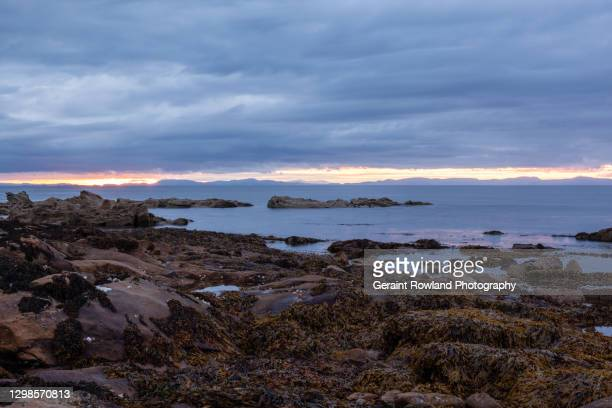 rugged scottish coastline - extreme terrain stock pictures, royalty-free photos & images