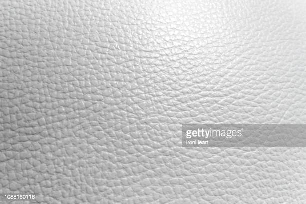 Rugged surface of white genuine leather luxury abstract background vintage.