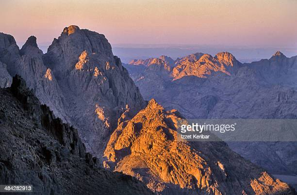 Rugged, wild landcapes of the Sinai